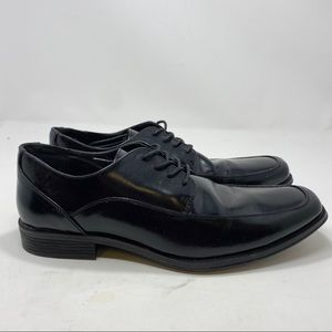 Dexter Memory Foam Men's Black Lace Up Shoes A124